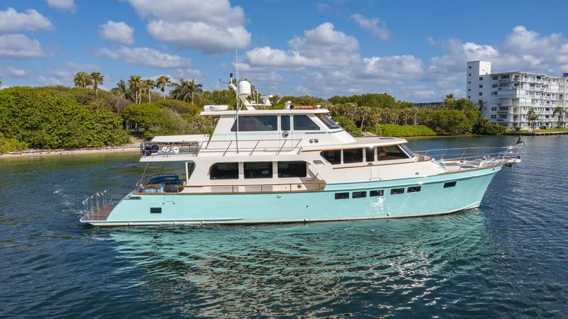 Rick Obey Yacht Sales - 76' 2017 Marlow Explorer 66E with 77' LOA