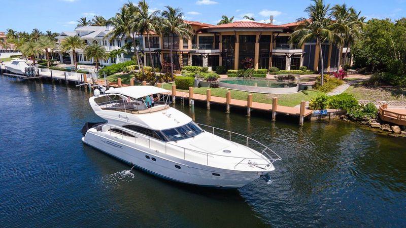 Rick Obey Yacht Sales - 61' 2005 Viking Princess Flybridge