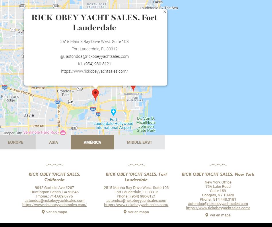 Rick Obey Yacht Sales Astondoa Dealer
