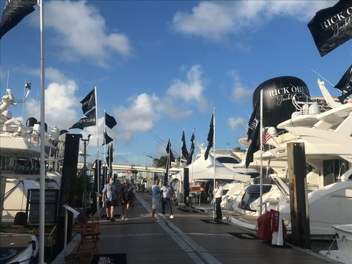 Rick Obey Yacht Sales at Fort Lauderdale International Boat Show 2020