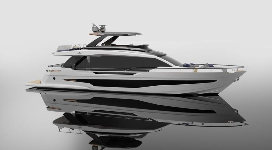 The New 25 Metre Flybridge Astondoa Yacht, AS8