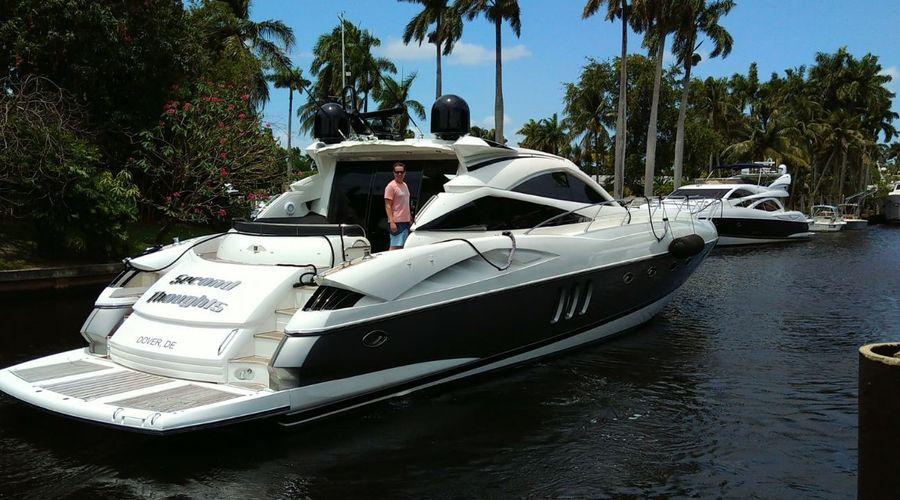 68' 2004 Sunseeker Predator Sold by Rick Obey Yacht Sales Broker