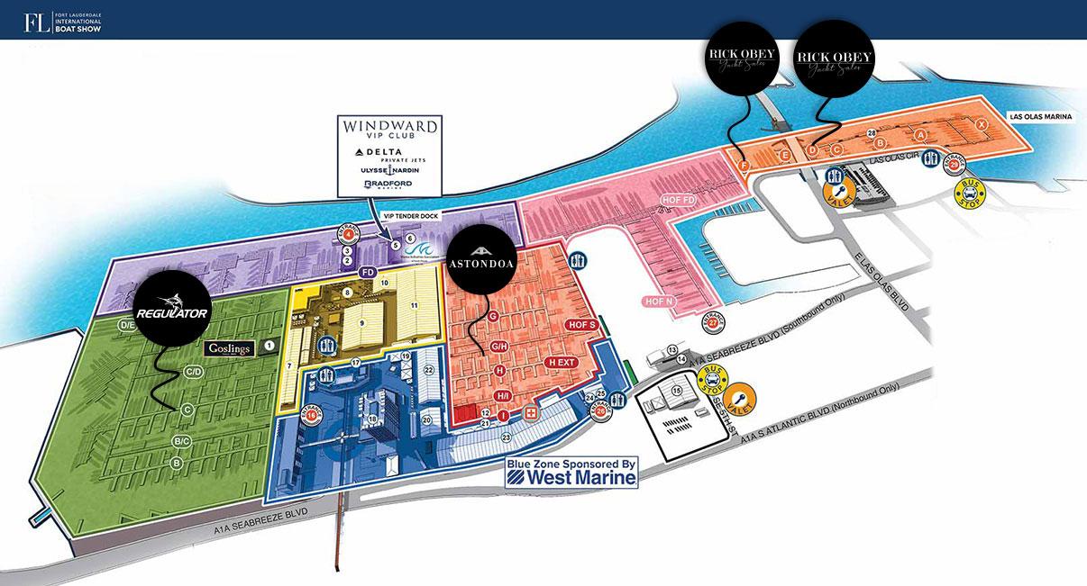 FLIBS 2019 main map