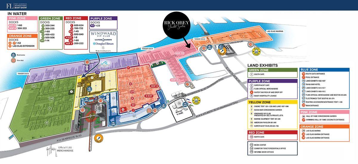 FLIBS 2020 main map