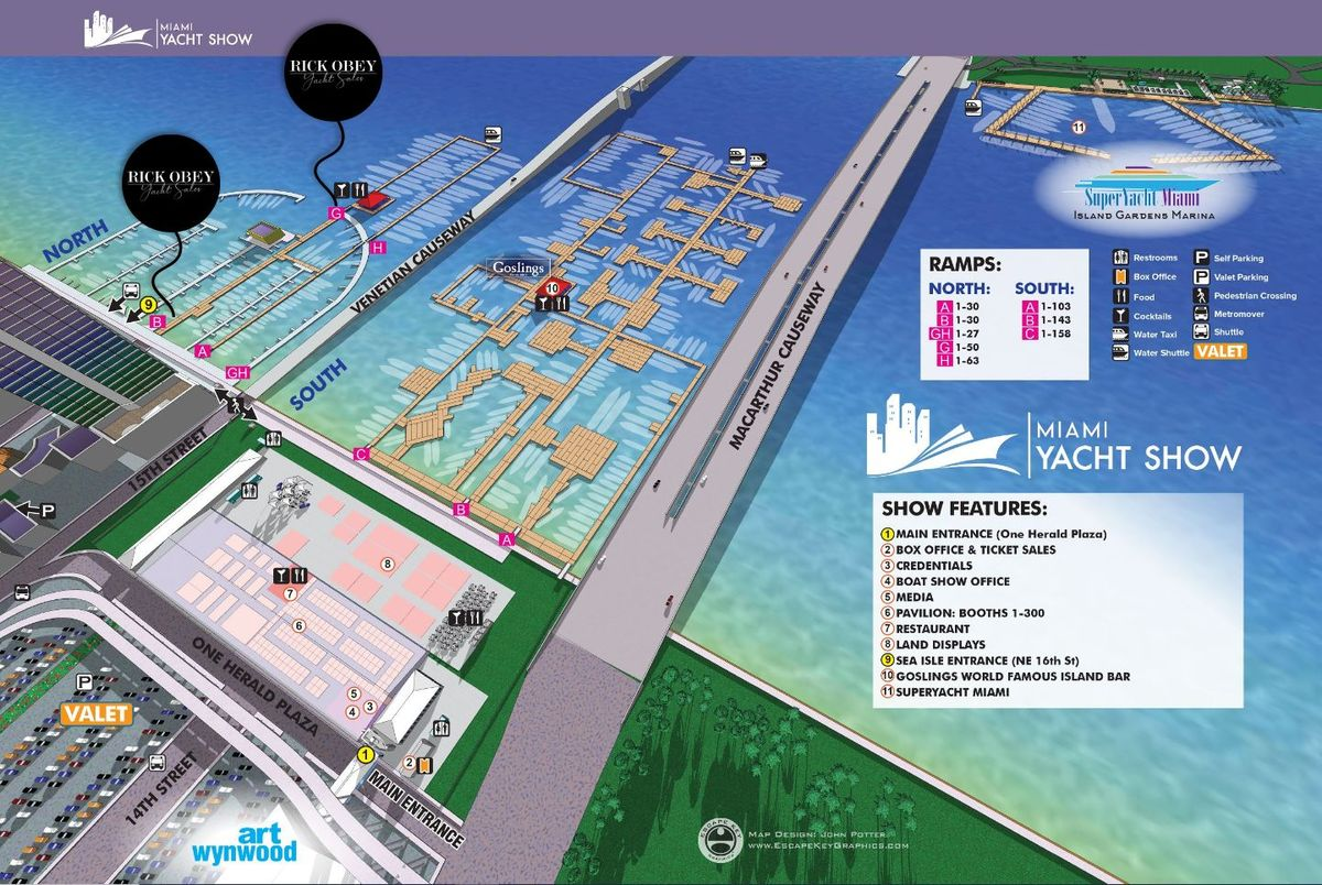 Miami 2020 main map