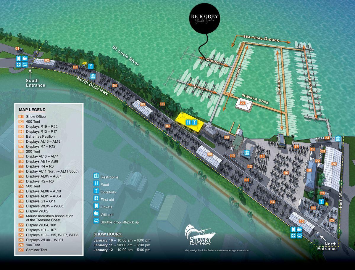 Stuart 2020 main map