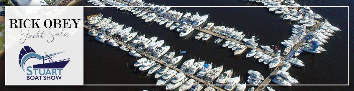 Rick Obey Yacht Sales at Stuart Boat Show 2021