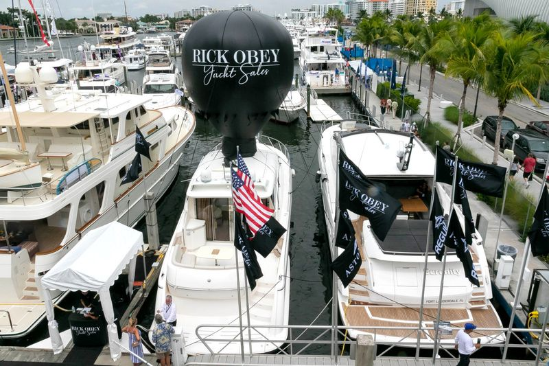 Rick Obey Yacht Sales at Yachting Events
