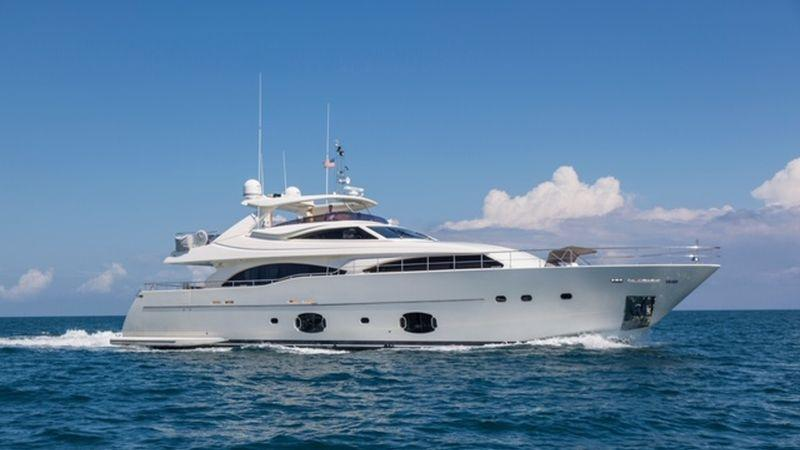 97' 2008 Ferretti Yachts Custom Line