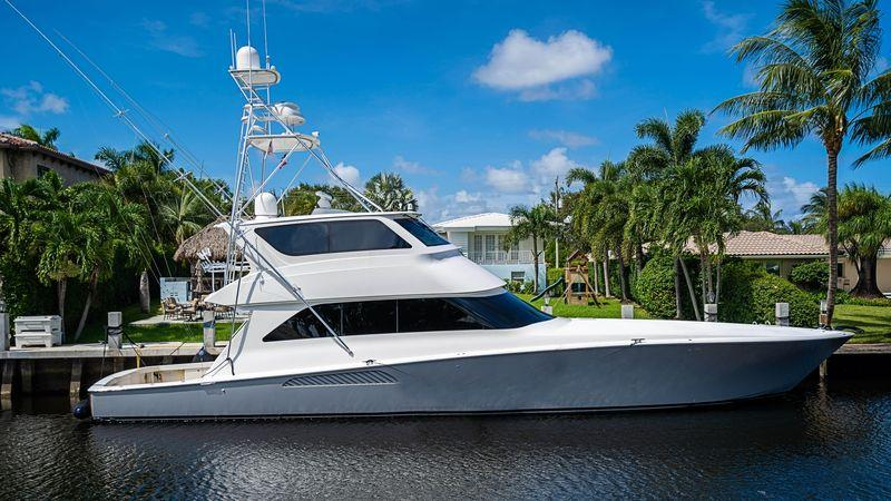74' 2007 Viking Enclosed Bridge