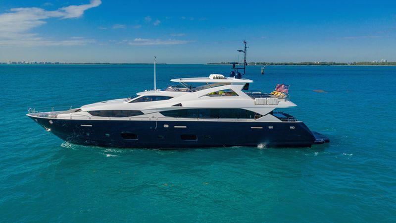 112' 2011 Sunseeker 34 Metre Yacht