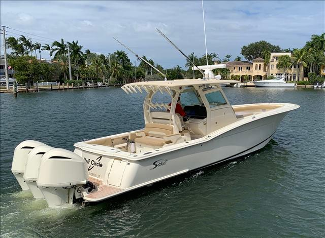 35' 2015 Scout 355 LXF