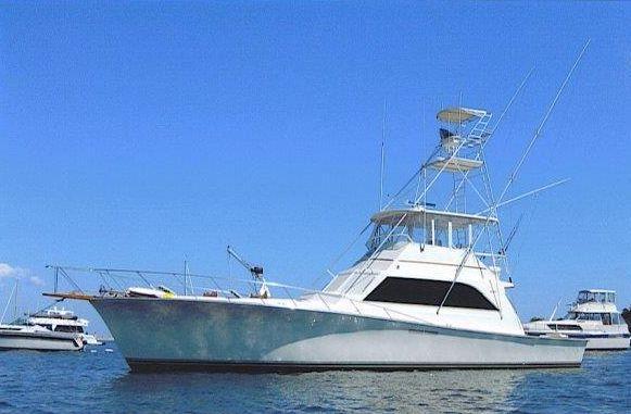 55' 1985 Ocean Yachts Super Sport