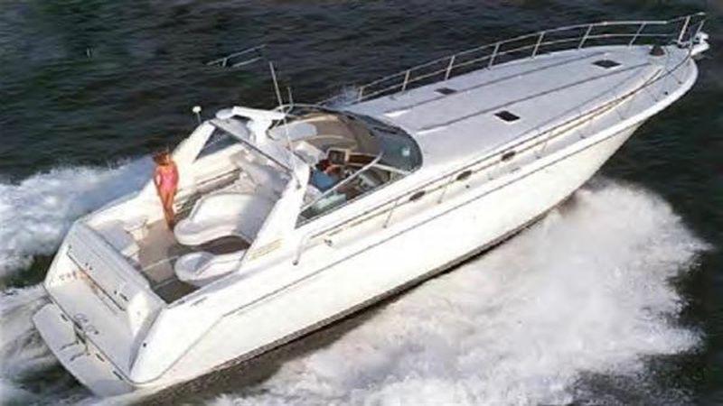 50' 1993 Sea Ray Sundancer
