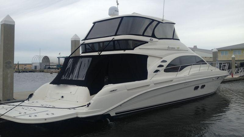58' 2005 Sea Ray 550 Sedan Bridge