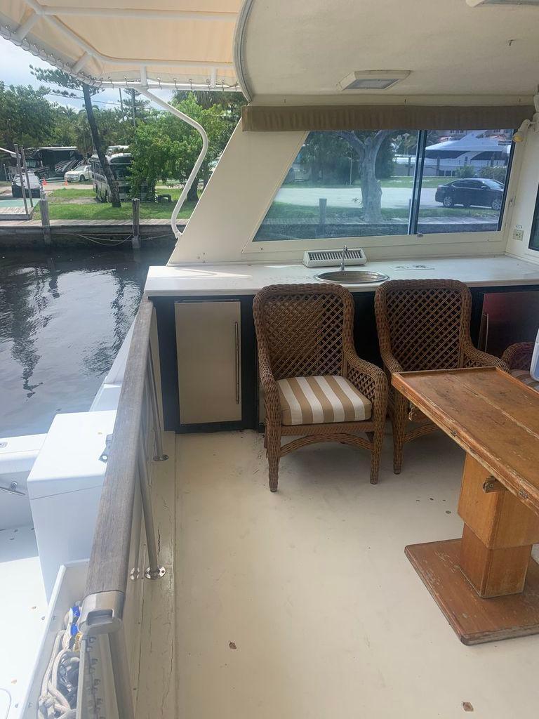 70' 1988 Hatteras Cockpit Motor Yacht