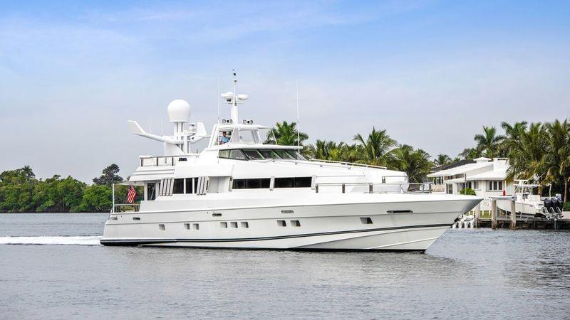 102' 1989 Oceanfast Motor Yacht Highline